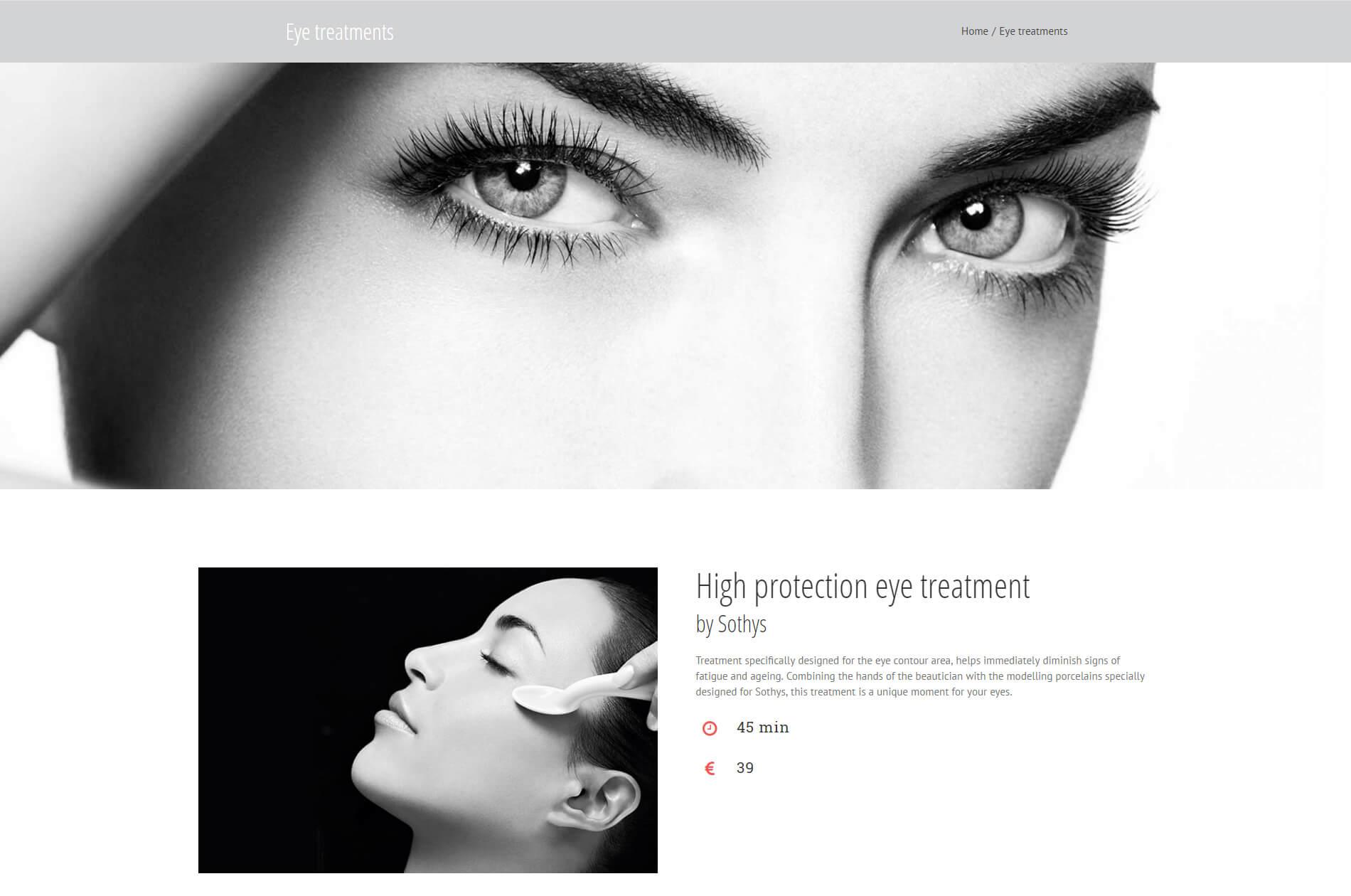 Webbdesign anweb Petra Elpida Cosmetic & Massage Studio