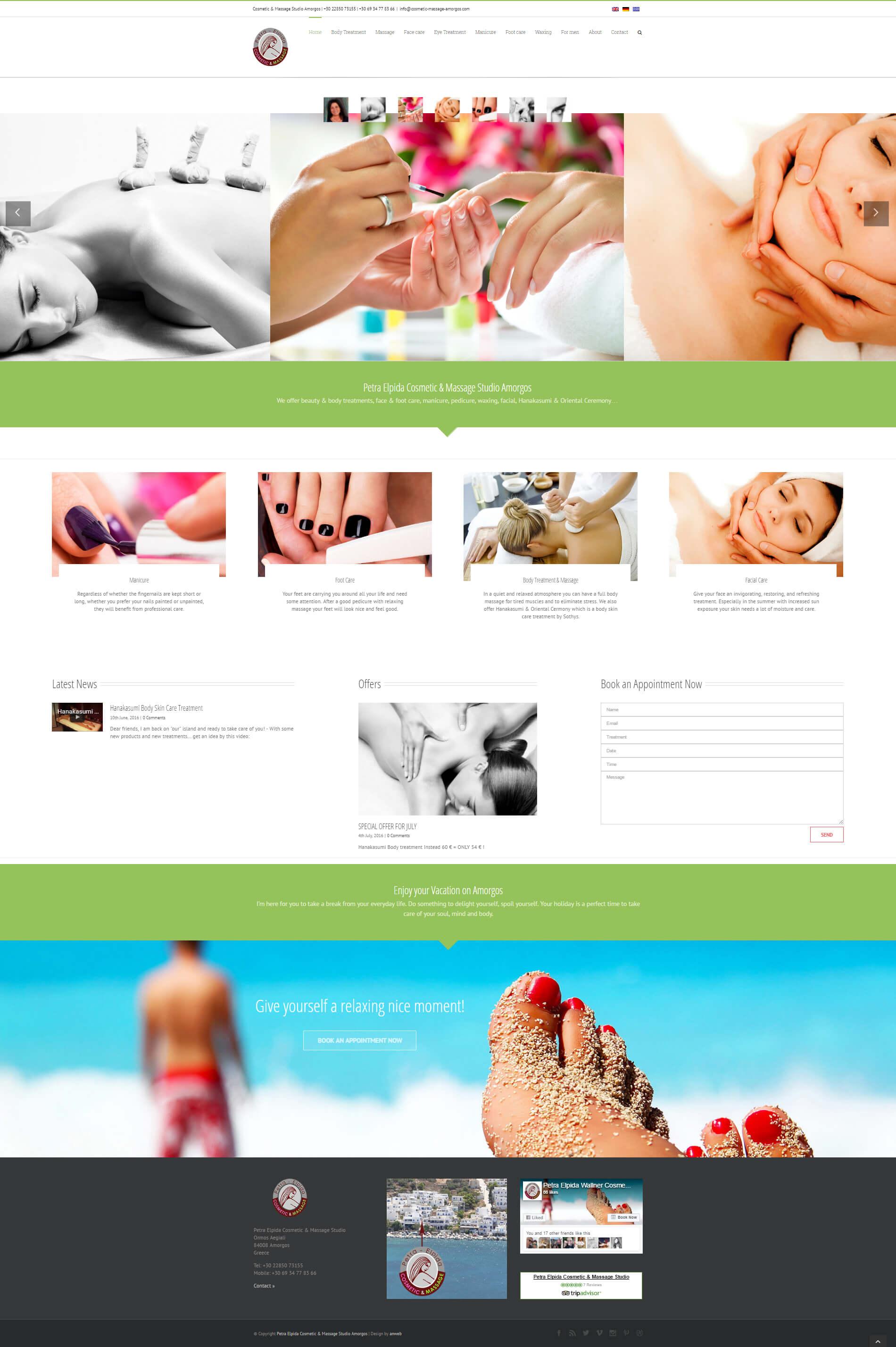 Petra Elpida Cosmetic & Massage Studio