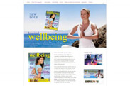 Web design anweb Inspired Wellbeing Magazine