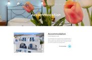 Web design anweb Marilia Rooms & Studios Amorgos