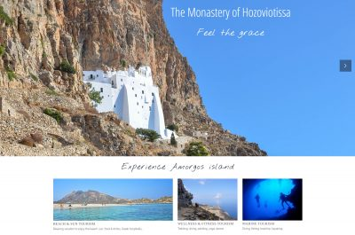 Website Amorgos Official Tourism Website