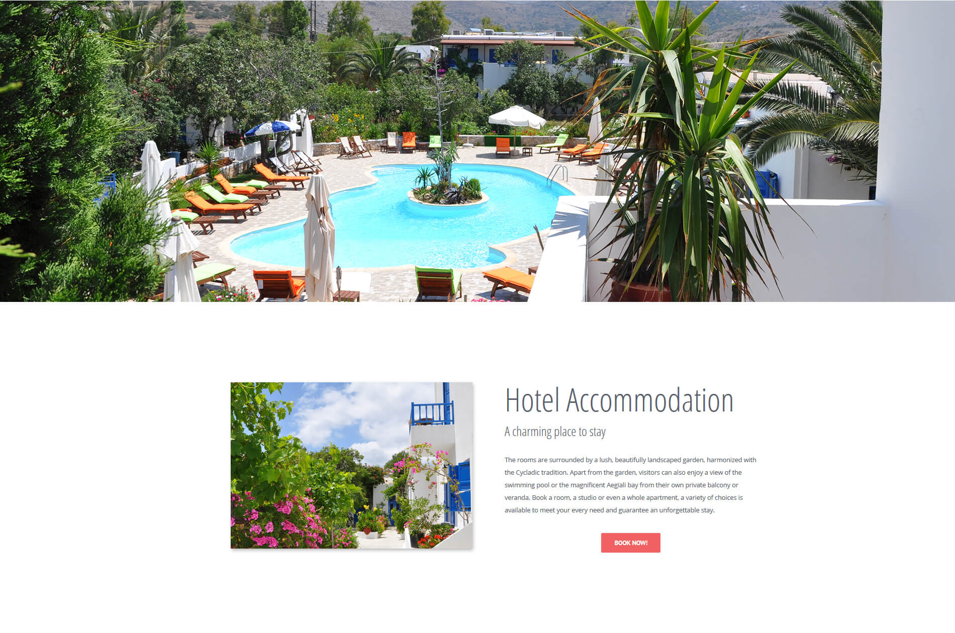anweb Web Design Lakki Village Family Beach Hotel