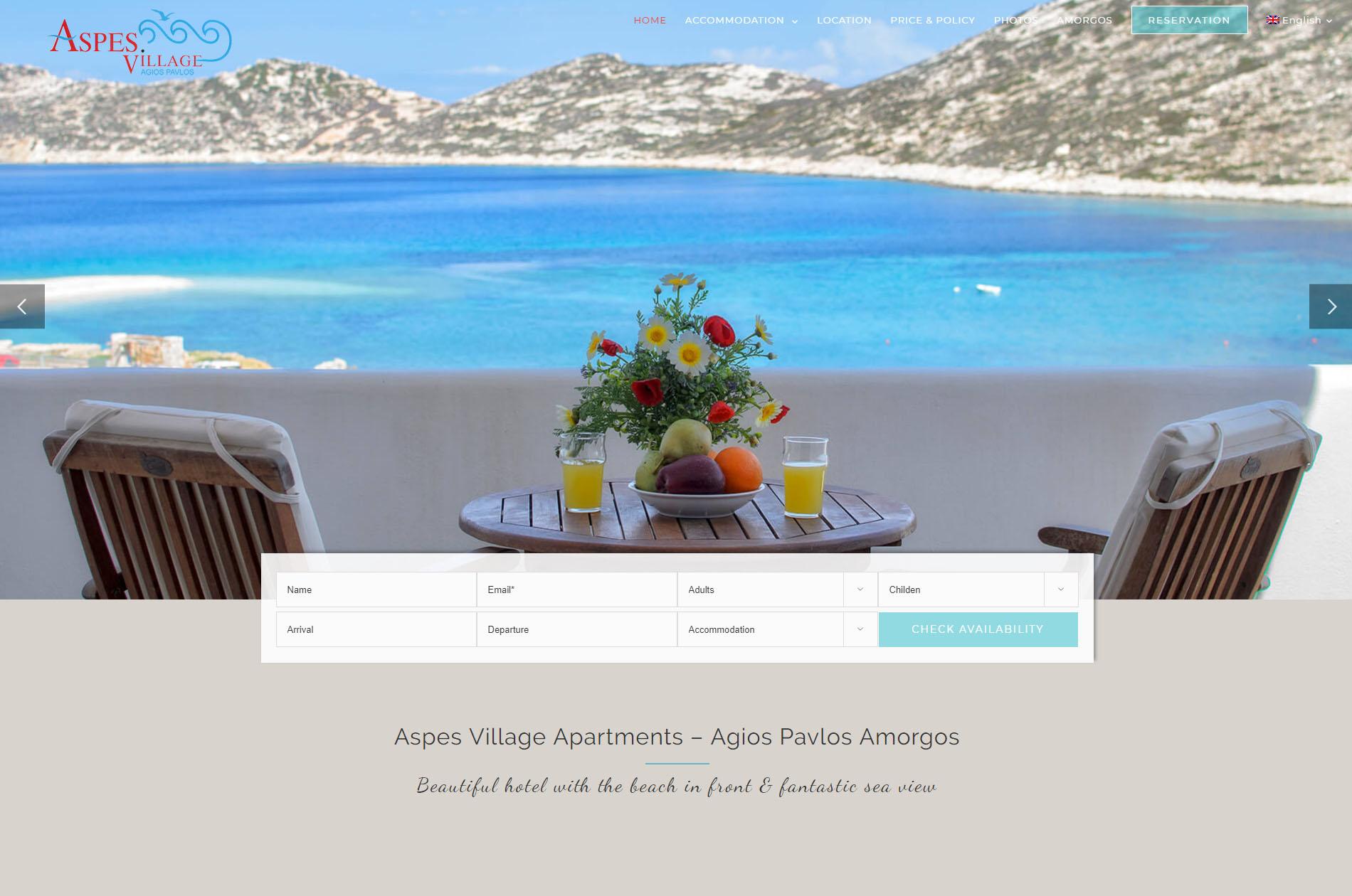 Aspes Village Amorgos Accommodation