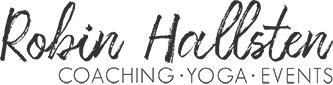 Logotype Robin Hallsten