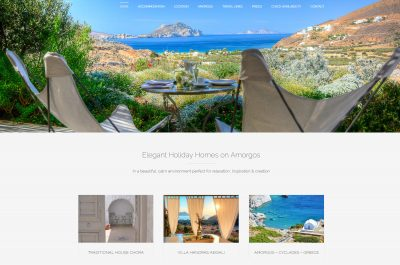 Webbdesign Elegant Holiday Homes