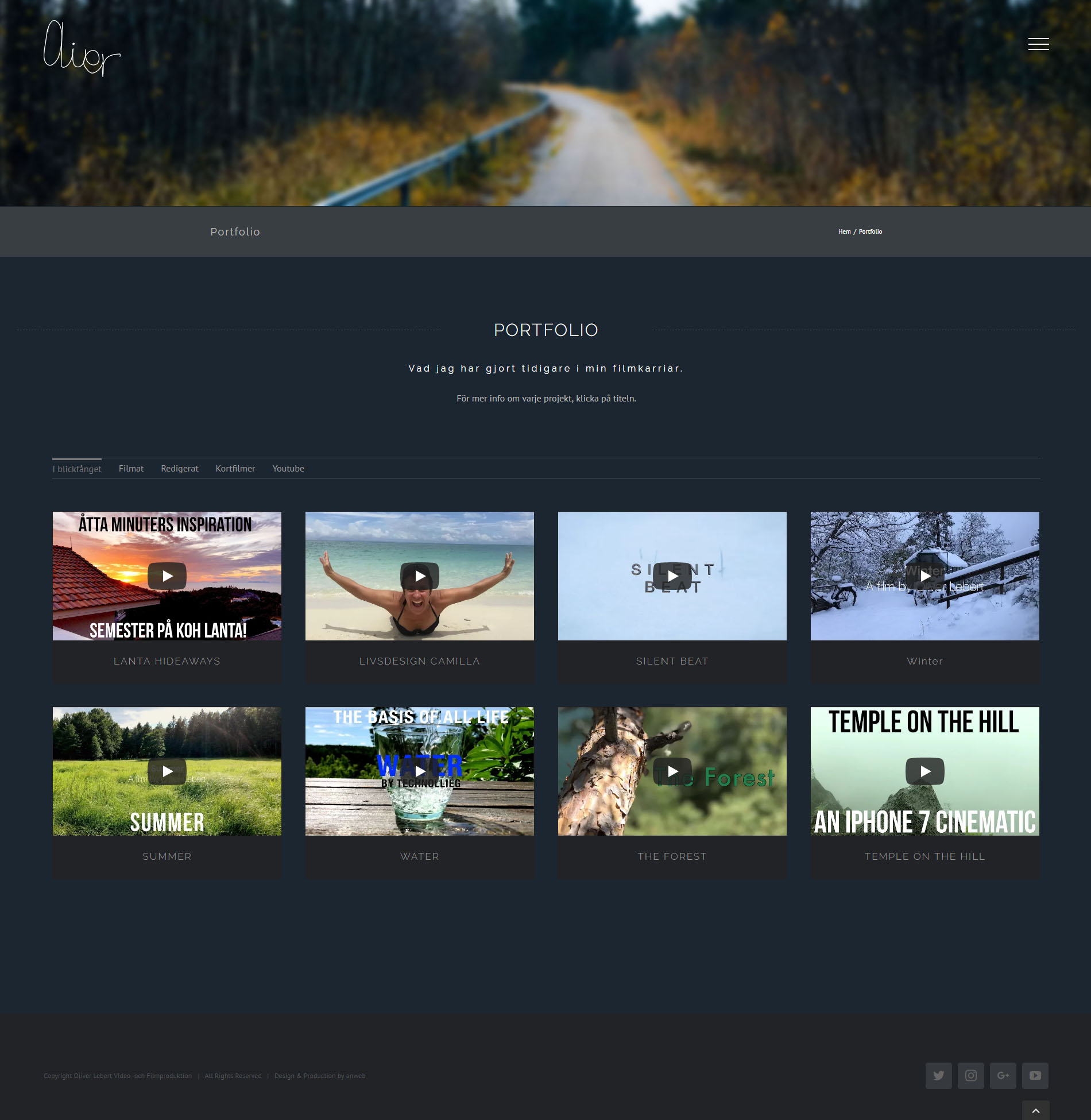 Web Design WordPress Video & Film Production