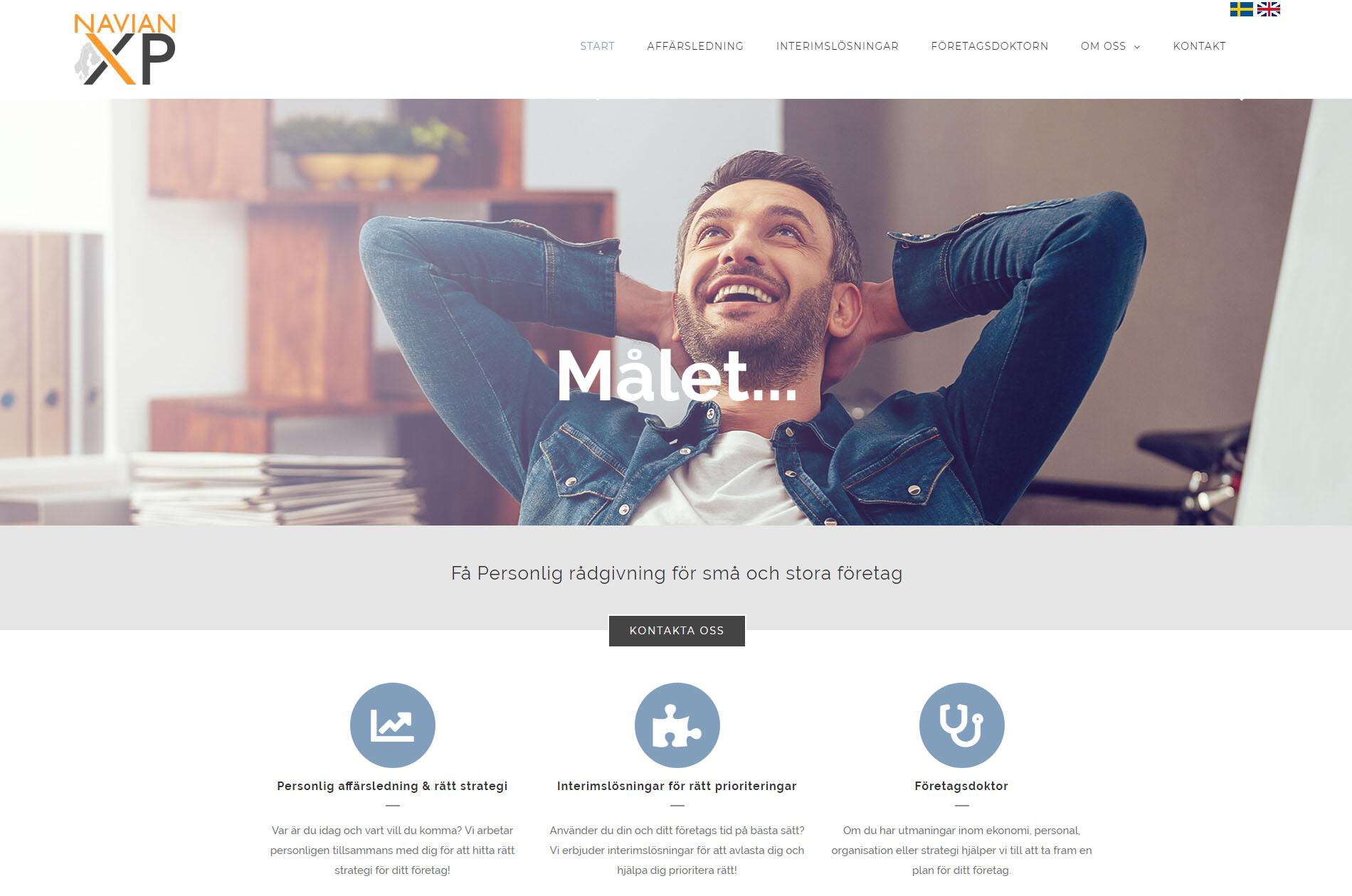 Web design anweb Scandinavian Expansion