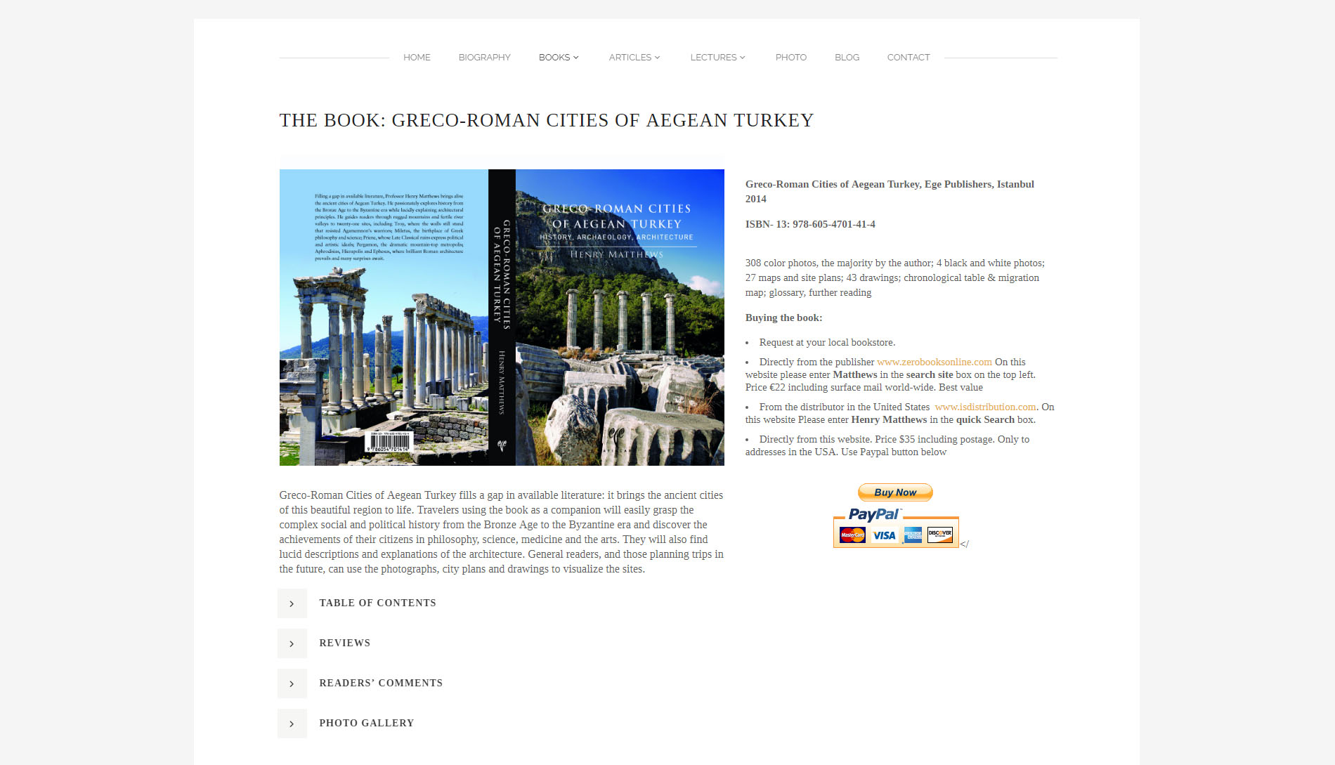 Webshop Henry Historian