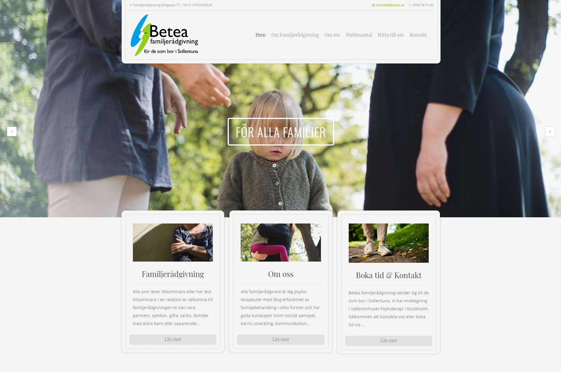 Website Family counseling