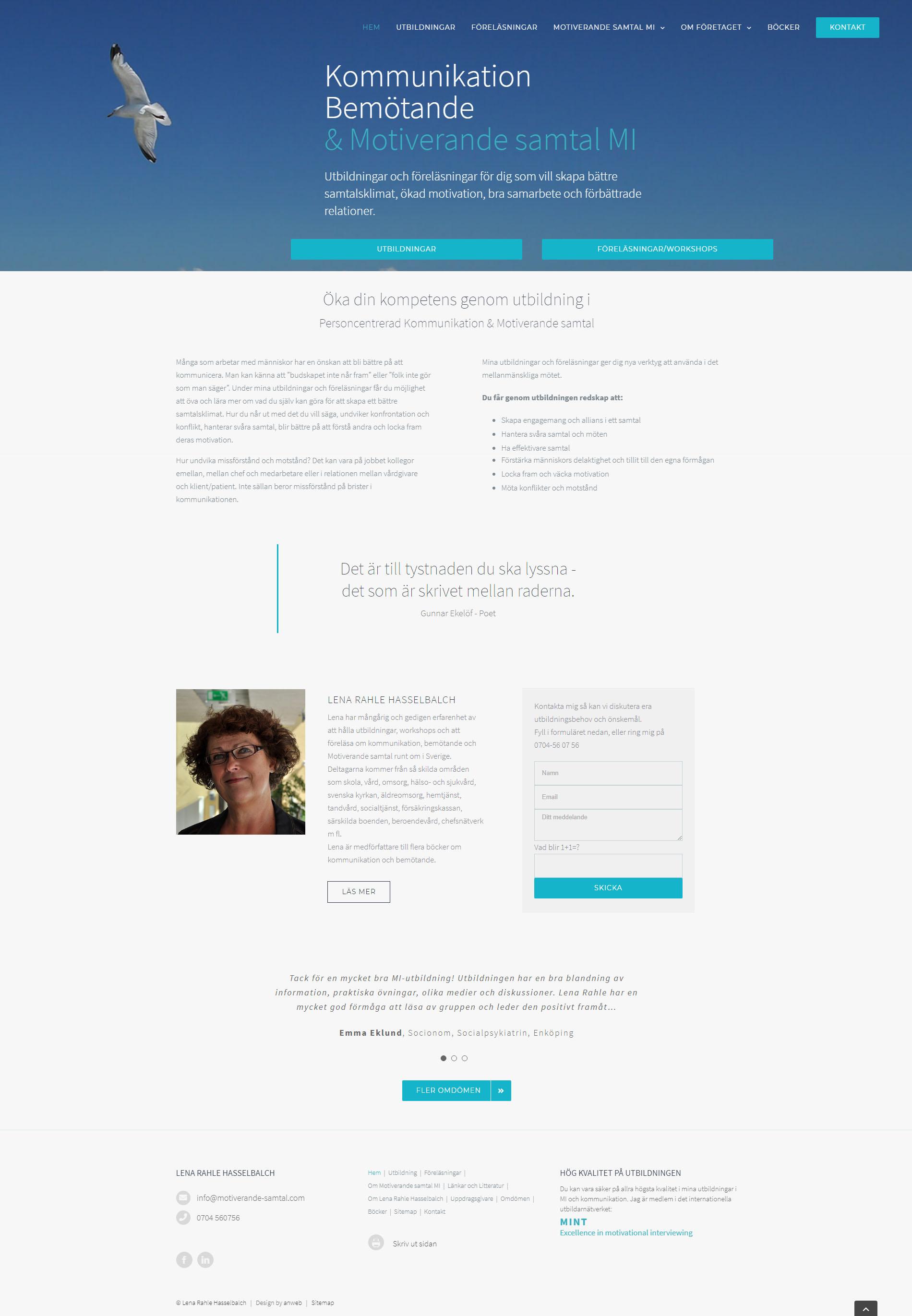Website Motiverande Samtal
