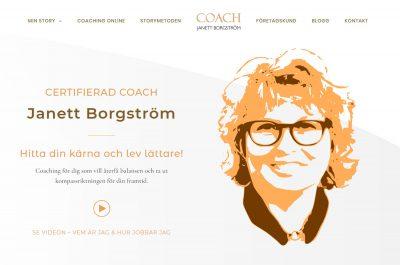 Coach Janett website
