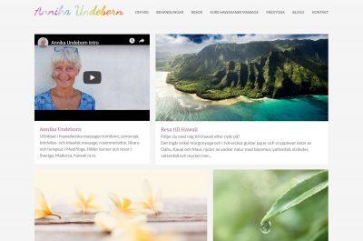 Annika Undeborn Web Design