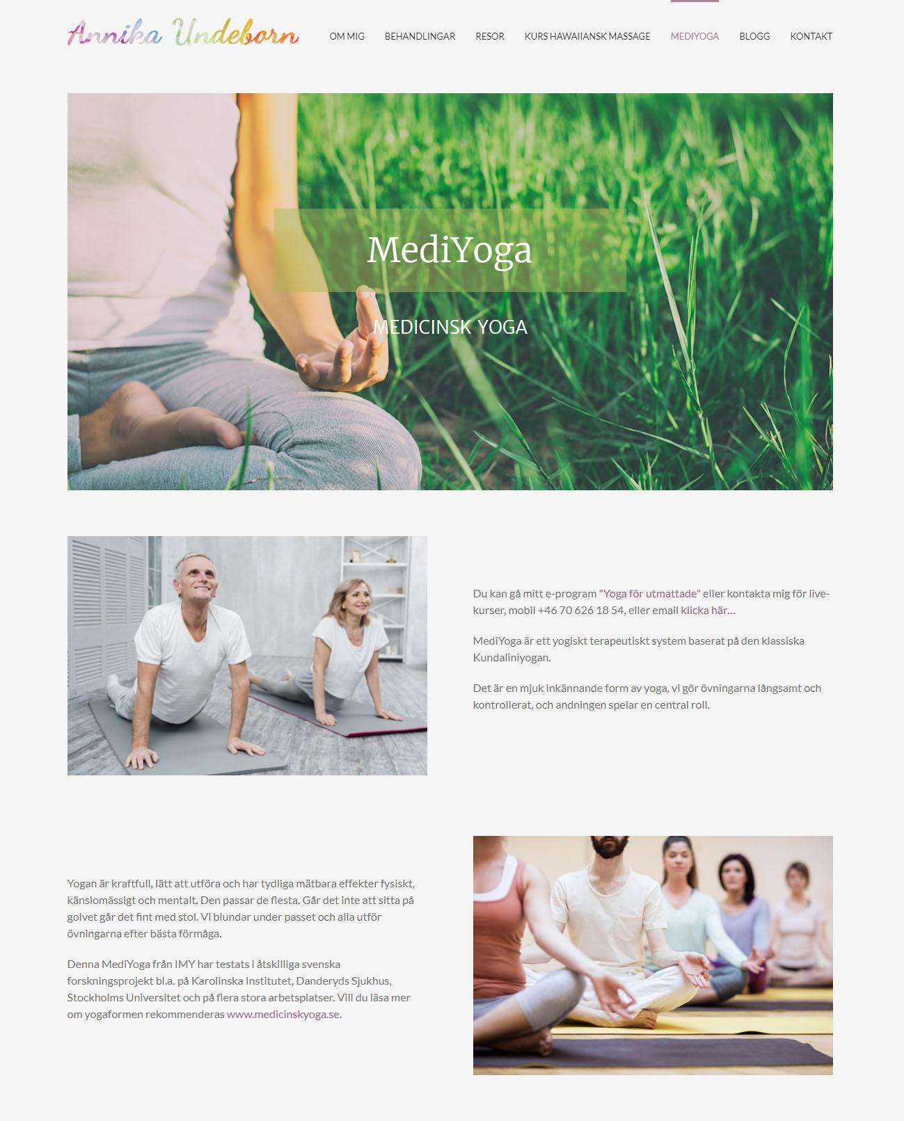 Annika Undeborn Webb Design anweb