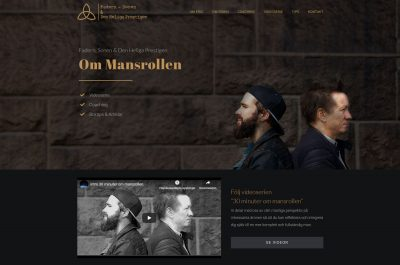 Web Design Anweb Mansrollen