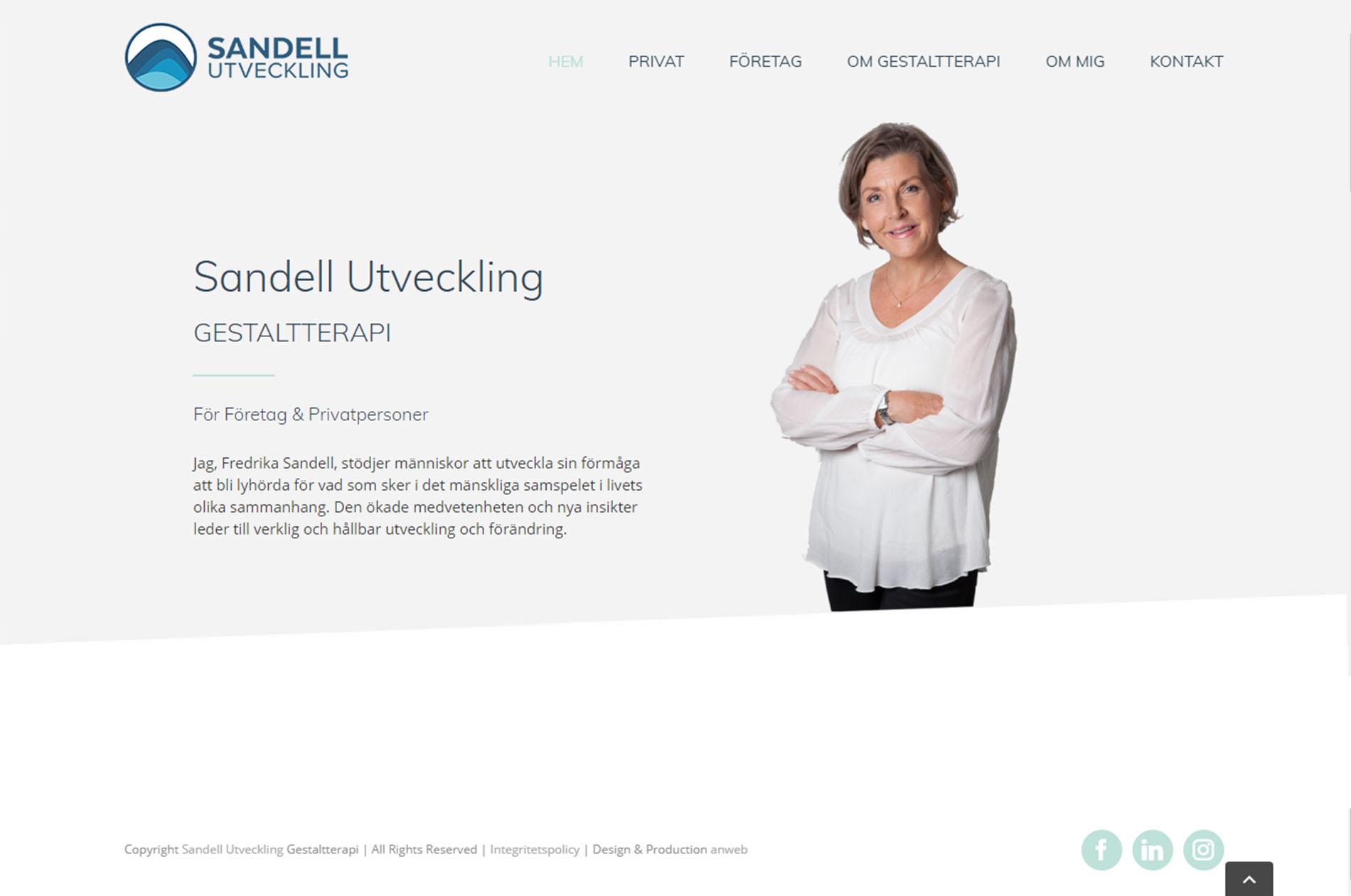 Web Design Sandell Utveckling