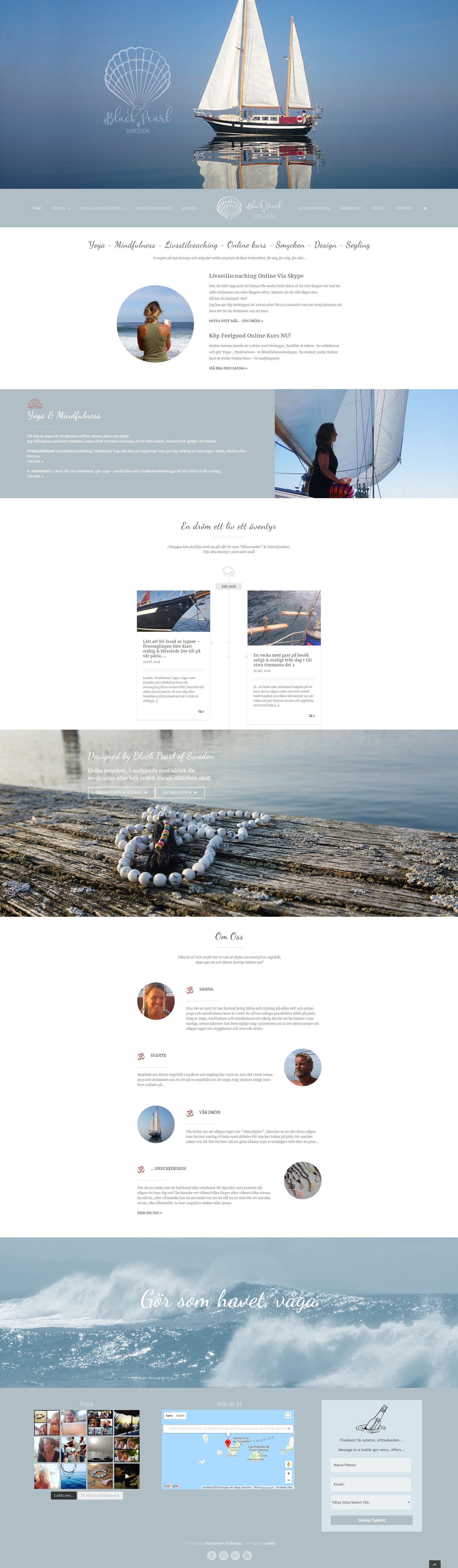Website Black Pearl of Sweden