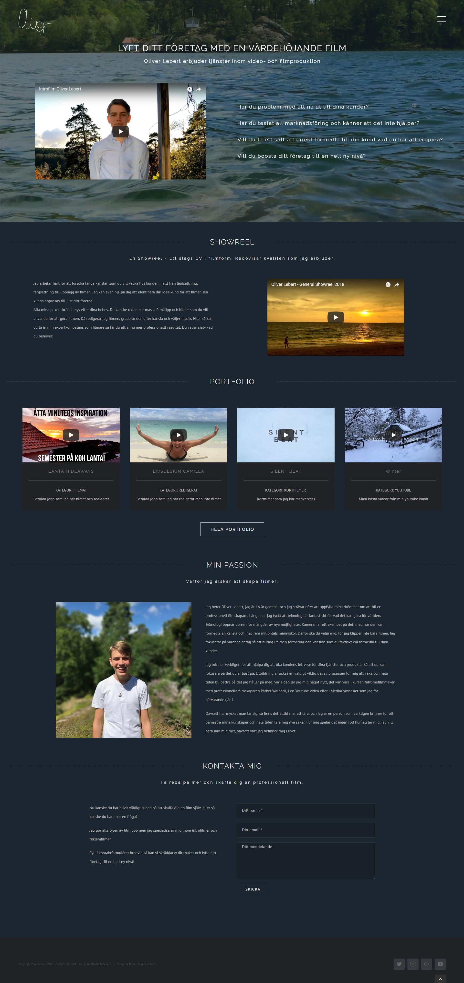 Website Video & Film Production